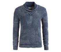 Pullover 'nikael' taubenblau