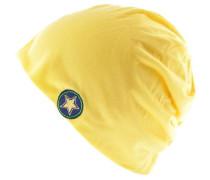 'Heat Stars' Beanie gelb