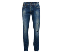 Jeans 'servando' blau