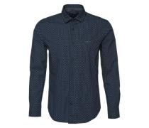 Hemd 'S aop popl ls Shirts woven long sleeve' blau