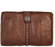 Azalea Geldbörse Leder 15 cm braun