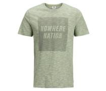 Melange T-Shirt mint