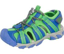 Kinder Sandalen WMS-Weite M4 blau / grün