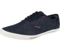 Sneaker Low 'Jjspider' Canvas navy / weiß