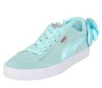 Sneaker 'Suede Bow' hellblau
