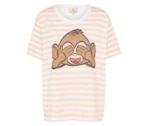 T-Shirt 'Teemonkey' rosa