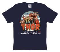 T-Shirt The Mighty Thor blau