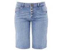 Smart Bermuda: Stretch-Jeans blue denim