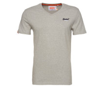 T-Shirt 'Orange Label Vintage' grau