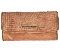 Cut it Vintage Dimly Wallet Geldbörse Leder 20 cm braun