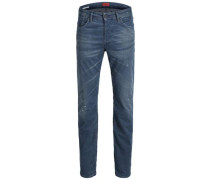 Slim Fit Jeans 'tim Leon BL 802' blau