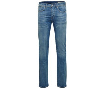 Slim Fit-Jeans blue denim