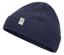 Kurze Mütze blau