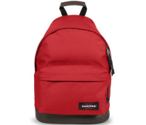 Authentic Collection Wyoming 16 Rucksack mit Leder 40 cm rot