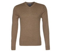 Pullover mit Kaschmir-Anteil beige