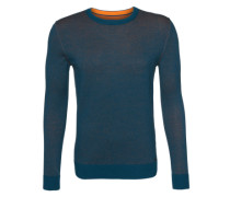 Pullover Solid blau