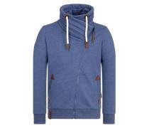 Male 'Zipped Jacket Jan Mopila Iii' blau / blaumeliert