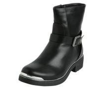 Klassische schwarze Stiefel schwarz