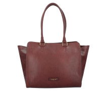 Prezzo Shopper Tasche 35 cm bordeaux