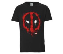 """T-Shirt """"Deadpool"""" rot / schwarz"""