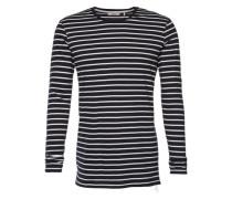 Langarmshirt in Ringel-Design 'Moxy' blau