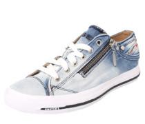 Sneaker in Jeans-Optik blau