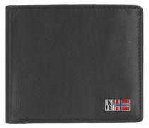 Mandal Geldbörse Leder 115 cm schwarz