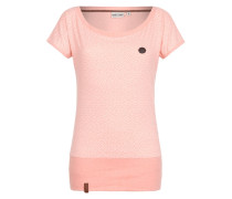 Printshirt 'Schlummerndes Inferno' pink
