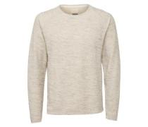 Sweatshirt Crew neck - beige