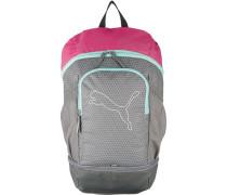 Rucksack für Mädchen grau