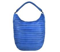 FREDsBRUDER FredsBruder Gürteltier S Shopper Tasche Leder 34 cm blau