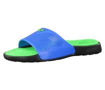 Badelatschen 'Massage Marco X Grip' blau / grün