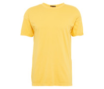 Basic Shirt 'RN Overcutted' gelb