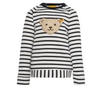 Sweatshirt '1/1 Arm' navy / weiß