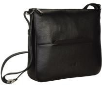 Faro 2 Umhängetasche Leder 29 cm schwarz