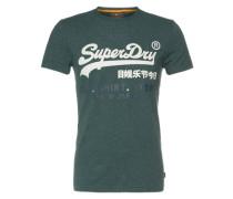 Shirt 'shop DUO Tee' grün