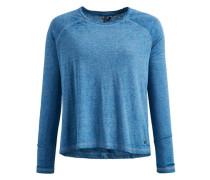 Shirt 'naila' blau / blaumeliert