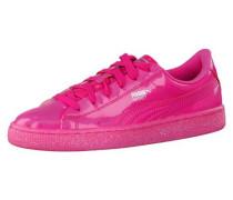 Sneaker Basket Patent Iced Glitter Jr pink