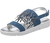 Kinder Sandalen blau / weiß