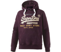 Sweatshirt beige / bordeaux
