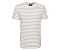 T-Shirt 'Phaen stripe r t s/s' weiß