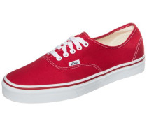 Sneaker Authentic rot