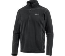 'Klamath Range II' Fleecepullover schwarz