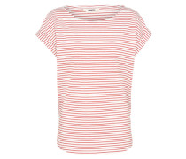 Streifenshirt 'Bell Stripe' rot