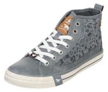 Sneaker 'Macrame' taubenblau