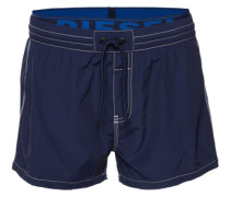 Badeshorts mit Logo-Bund 'Bmbx-Seaside' blau