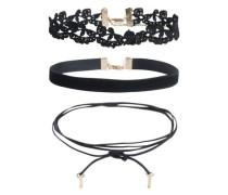 Choker-Halskette schwarz