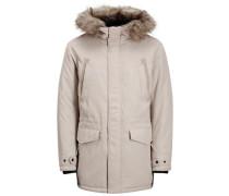 Klassische Jacke beige