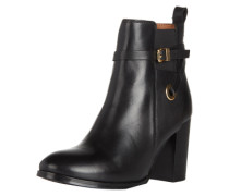Hohe Ankle Boots 'Stacey' schwarz