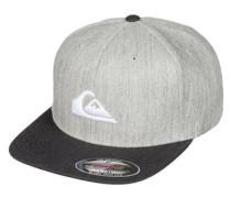 Cap 'Stuckles' hellgrau / schwarz / weiß